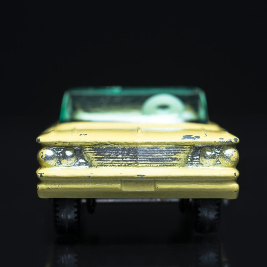 Showable Art -Pontiac Convertible, Matchbox Series No. 39. Photography by Jeff Kauffman.